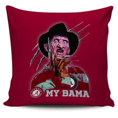 Freddy Alabama Crimson Tide Pillow Covers – Best Funny Store