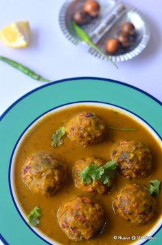 UK, Rasoi and Me ... : Lauki ke Kofte : Low cal Healthy curry by @Nupur Harwani Shah UKRasoi