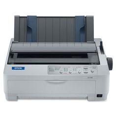 """Epson Lq. 590 Dot Matrix Printer . 24. Pin 80 . Column . 529 Cps Mono . Usb . Parallel """"Product Type: Printers/Dot Matrix Printers"""". Printers. Dot Matrix Printers."""