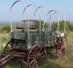 """from: Daniel Adams Fine Art Gallery: """"this John Deere wagon is just sitting on a hilltop nearby."""""""