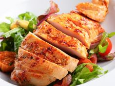 Healthy Chicken Marinade Recipes Chicken for dinner—again? Beat the poultry blues with these healthy, yummy chicken marinade recipes. Healthy Meats, Good Healthy Recipes, Healthy Chicken Recipes, Meat Recipes, Food Processor Recipes, Healthy Eating, Yummy Recipes, Healthy Food, Dinner Recipes