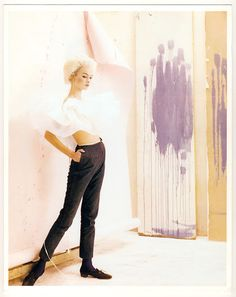 Jean Shrimpton by Cecil Beaton