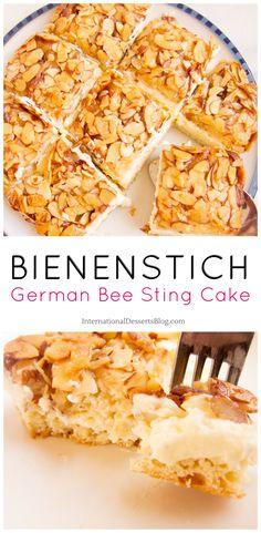 "German ""Bee Sting Cake"""