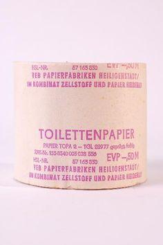 DDR Museum - Museum: Objektdatenbank - Klopapierhalter    Copyright: DDR Museum, Berlin. Eine kommerzielle Nutzung des Bildes ist nicht erlaubt, but feel free to repin it!