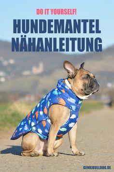 DIY Hundemantel Anleitung auf www.genkibuldog.de