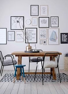 wall art inspo on blog.uncovet.com!