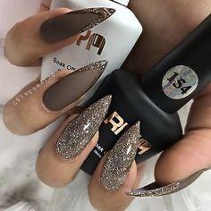 Winter Nails Designs - My Cool Nail Designs Fabulous Nails, Perfect Nails, Gorgeous Nails, Love Nails, Fun Nails, Nail Swag, Stylish Nails, Trendy Nails, Uñas Jamberry
