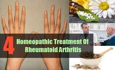 4 Homeopathic Treatment Of Rheumatoid Arthritis