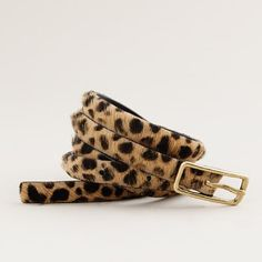 My leopard print belt is every.single.thing!