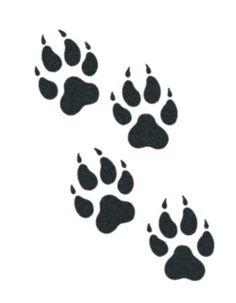 tribal wolf paw - Google Search