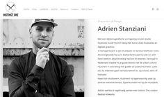 Artist profile / 'Creator' on 'Instinct One' website [07-2017]