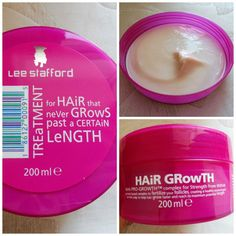 Lee Stafford Hair Growth Treatment - Helps to make your hair thicker, stronger and longer! It really works...