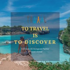"""""""To Travel Is To Discover!"""" (^_^) #DiscoverYourself  #FollowUs & #StayTuned for updates \m/ #travel #travelgram #instatravel #instaquote #motivation #travelquote #instatravelgram #instatrip #vacations #beach #joy #solotravel #startups #business #instaphoto #photography #subscribe"""