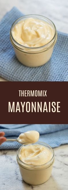 Thermomix Mayonnaise via @thermomixdiva