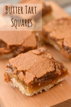 It's been five years since we posted our recipe for Butter Tart Squares. It's so good, we just had to dig it out of the archives to share with our readers. Recipe For Butter Tarts, Canadian Butter Tarts, Cookie Desserts, No Bake Desserts, Dessert Recipes, Baking Desserts, Bakery Recipes, Butter Tart Squares, Classic Desserts