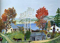 by Grandma Moses (Anna Robertson) (1860-1961, United States)