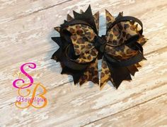 Hair Bow by Shana's Boutique