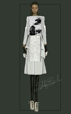 """Geometries 2"" Sketch 