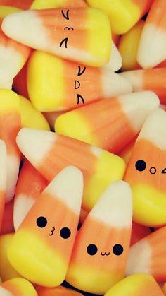 Cute Candy Corn Wallpaper