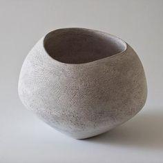 Yasha Butler Ceramic Lithic Vessel Object Bowl Sculpture