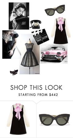 """""""💎💓💎"""" by lolla-cher ❤ liked on Polyvore featuring Retrò, Gucci and Victoria Beckham"""