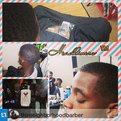 """#Repost @theneighborhoodbarber """"Take care of your clients and they will take care of you..."""" Give your clients a better experience! DM or email us at info@capemakers.com to get your #iCape 2.0. For more info go to http://icape.biz  #barber #barbershop #hairstylist #salon #barbershopconnect #mensgrooming #hairstyles #modernsalon"""