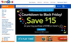 "Toys ""R"" Us Personalizes Black Friday Videos Using Eyeview"