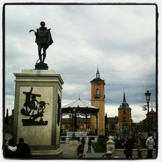 Plaza Cervantes. Alcalá de Henares