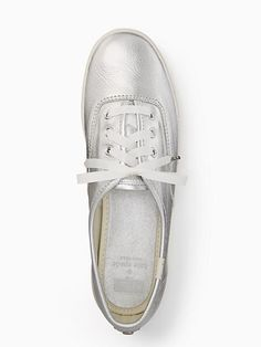 19c539228 Keds X Kate Spade New York Metallic Sneakers, Silver - Size 8.5 Tênis  Metálicos,