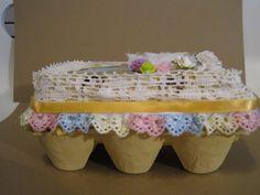 Altered egg carton