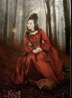 Katria's Dress (Northern Lights)