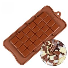 Silicone Baking Mat For Macarons and bbq Cooking Cookie Dessets - Silicone Baking Mat 365 Silicone Chocolate Molds, Silicone Molds, Chocolate Hearts, Melting Chocolate, How To Temper Chocolate, Oven Canning, Silicone Baking Mat, Candy Molds, Diy Molding