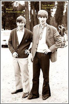 Monke Vandecaetsbeek en Jean-Marie Sourbron.