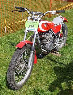 Bultaco Trials 350cc Motorcycle 1979