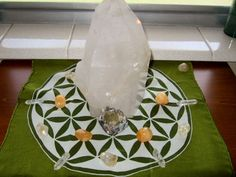 How to use Crystals to Attract Abundance ~ Hibiscus Moon
