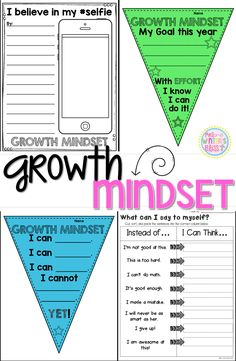 Do your students have a growth mindset or a fixed mindset? Here are some engaging activities for elementary kids. These lessons are designed as a way to foster a Growth Mindset culture in your classroom with your students. Also Included are bulletin board Growth Mindset Classroom, Growth Mindset Activities, Growth Mindset Display, Growth Mindset For Kids, Social Emotional Learning, Social Skills, Social Work, Visible Learning, Fixed Mindset