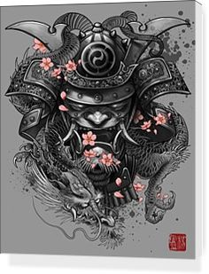 Samurai Dragon by Elvin yong | Nuvango
