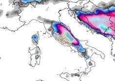 Previsione neve Italia 5 Marzo 2015