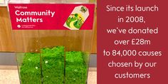 WaitroseVerified account @waitrose  In 2008 we started #CommunityMatters, supporting causes close to our customers' hearts. Since then we've given over £28m #LocalCharitiesDay