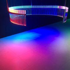 Studies on spectral lights by Phillipe Rahm Architects for @Artemide lighting