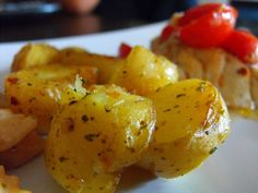 Over Garlicked Potatoes with a spice kick recipe on Food52.com