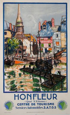 Lachevre 1930 Honfleur 61X100 Serre | Flickr - Photo Sharing!