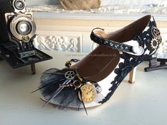 Steampunk Schuhe von Laceandloveshoes auf Etsy