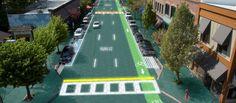 Estradas do futuro poderão ser alimentadas por energia solar