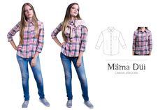 Camisa Leñadora - Mama Düi - Isla de Margarita @mamadui