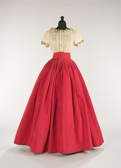 1960, America - Evening dress by Norman Norell - Silk, cotton