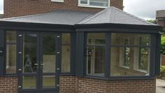 A tiled roof is the perfect complement to a contemporary style conservatory