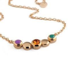 Mooie MelanO Vivid Valerie collier in goud-, zilver- en rosé kleur verkrijgbaar. #strego #juwelier #collier #ketting