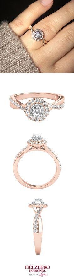 We're blushing over your #RoseGold engagement ring, Taylor! Congrats!  #FanPhotoFavorite #SheSaidYes #Engaged #Wedding #Diamond #Ring #BrideToBe