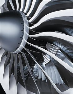 "dequalized: "" Worldwide print campaign for General Electric, shot on various locations in the U. The is known as the world's biggest aircraft engine, exclusively made for the Boeing The engine also holds the world record for the highest. Turbine Engine, Gas Turbine, General Electric, Motor Jet, Image Avion, Turbofan Engine, Airplane Photography, Aircraft Engine, Jet Engine"